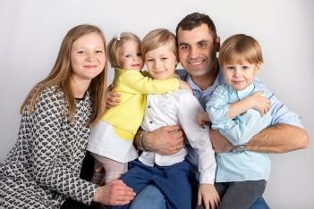 Детская семейная фотосъёмка