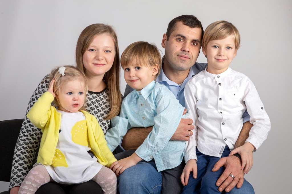 Детская семейная фотосессия 1