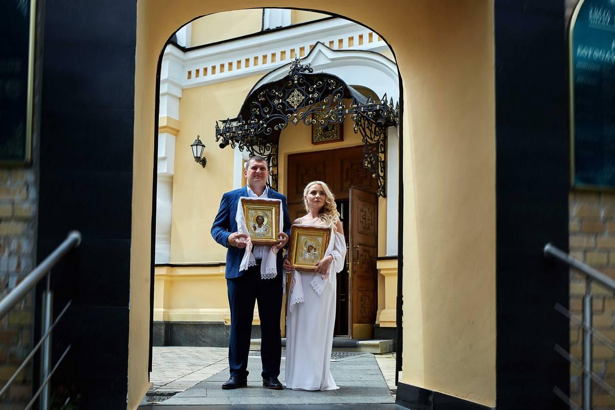 Фотосъёмка венчания в Киеве