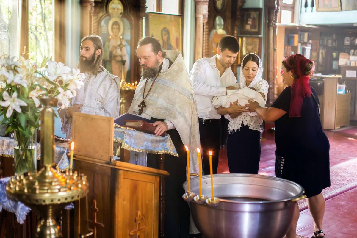 Фотосъёмка крестин в Киеве