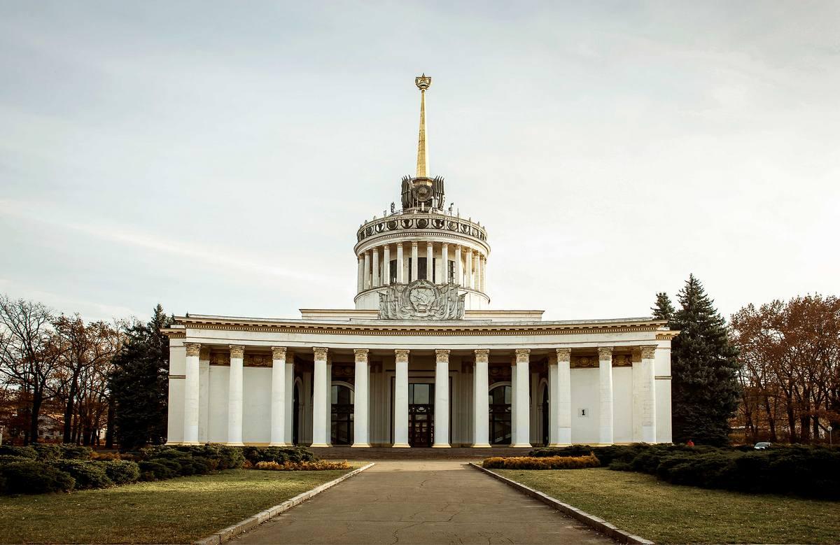 Места для фотосессий в Киеве ВДНХ