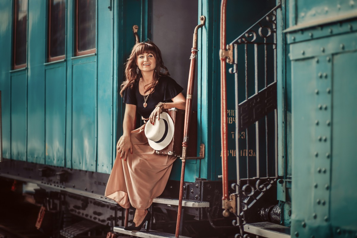 Места для фотосессий в Киеве- музей на жд вокзале